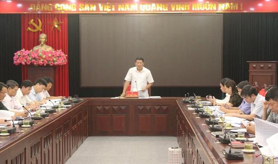 Sơn La họp thông qua số liệu kiểm kê đất đai năm 2019