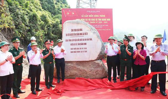 Đóng điện lưới ra đảo Trần tại huyện đảo Cô Tô