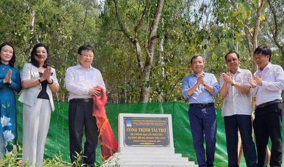 PV GAS tài trợ hơn 2 tỷ đồng xây dựng kè chống sạt lở Khu di tích mộ bà Hoàng Thị Loan