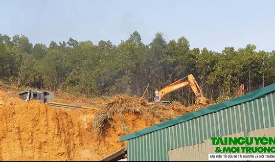 """Thanh Hóa: """"Đất tặc"""" lộng hành cạnh mỏ của Công ty Việt Lào"""