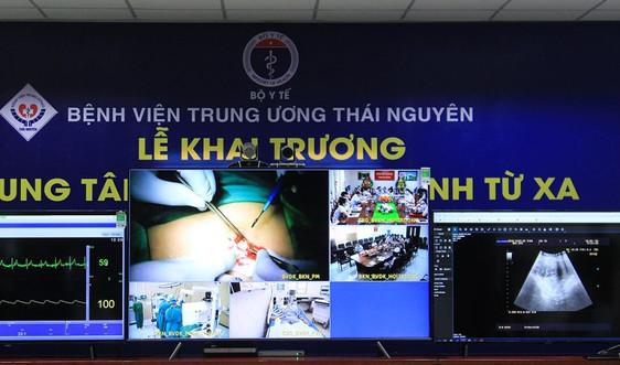 Bệnh viện Trung ương Thái Nguyên: Ra mắt Trung tâm tư vấn, khám, chữa bệnh từ xa