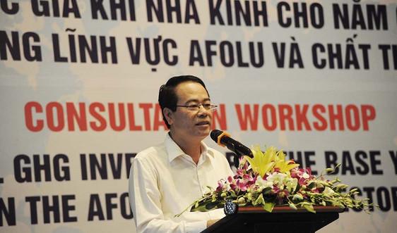 Hoàn thiện báo cáo về biến đổi khí hậu của Việt Nam