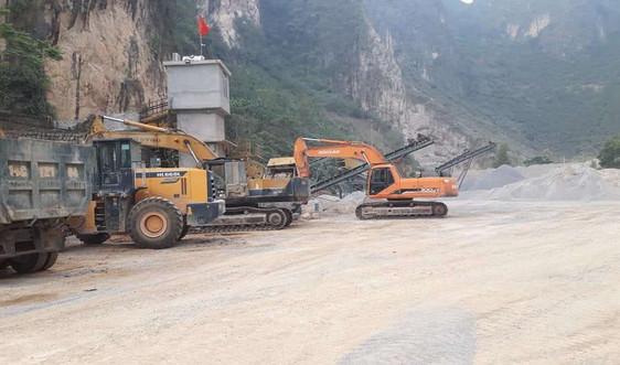 Lạng Sơn: Xử lý các doanh nghiệp nợ tiền cấp quyền khai thác khoáng sản