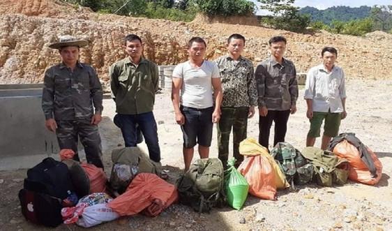 Quảng Bình: Khai thác vàng trái phép 6 đối tượng bị bắt giữ