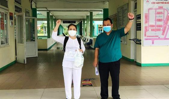Bệnh viện Phổi Đà Nẵng cho xuất viện bệnh nhân Covid-19 cuối cùng