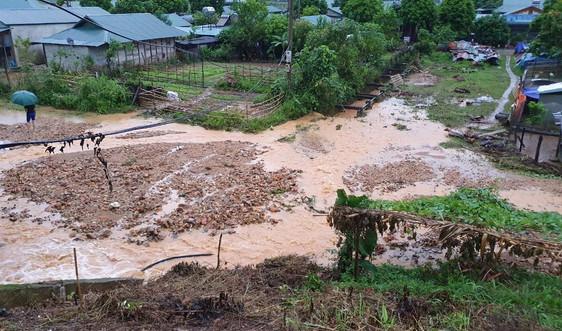Lai Châu: Cảnh báo lũ quét, sạt lở đất