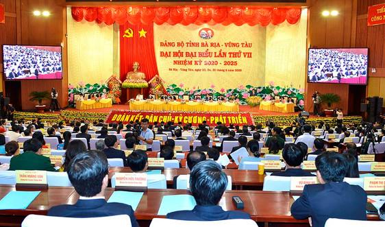 Bế mạc Đại hội đại biểu Đảng bộ tỉnh Bà Rịa - Vũng Tàu lần thứ VII, nhiệm kỳ 2020 - 2025