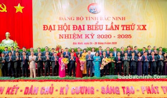 48 đồng chí trúng cử Ban Chấp hành Đảng bộ tỉnh Bắc Ninh khóa XX, nhiệm kỳ 2020- 2025