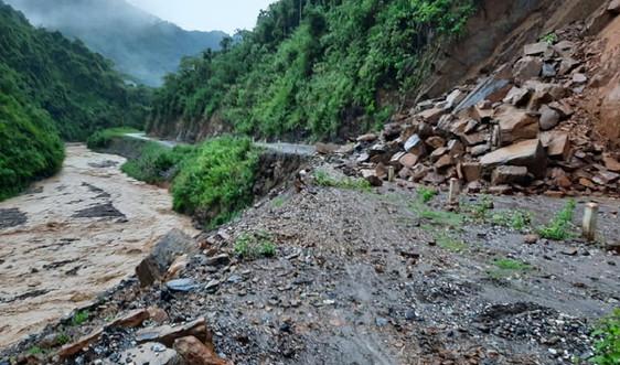 Sơn La: Cảnh báo mưa lớn, lũ quét và sạt lở đất