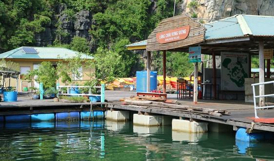 Quảng Ninh sử dụng vật liệu thân thiện môi trường trong nuôi trồng thủy sản