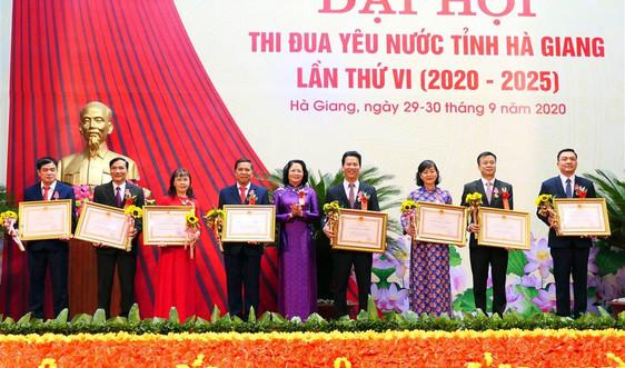 Đại hội Thi đua yêu nước tỉnh Hà Giang lần thứ VI thành công tốt đẹp