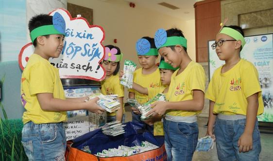 Hà Nội: 1.600 trường mầm non, tiểu học tham gia chương trình tái chế học đường