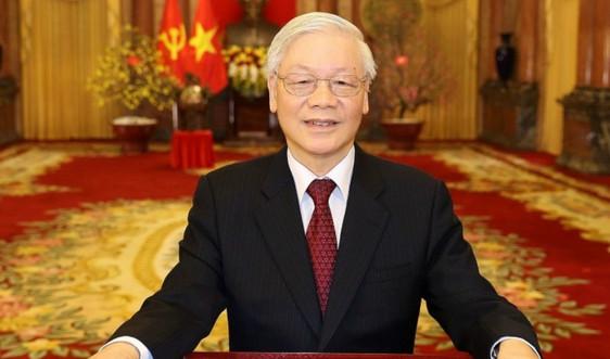 Tổng Bí thư, Chủ tịch nước Nguyễn Phú Trọng gửi thư chúc mừng 75 năm ngành Khí tượng thuỷ văn