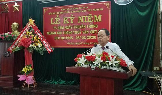 Gia Lai: Mít tinh kỷ niệm 75 năm ngày truyền thống ngành Khí tượng Thủy văn Việt Nam