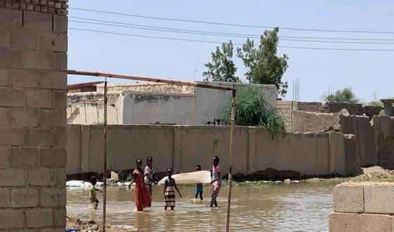 Lũ lụt và lạm phát gia tăng đe dọa hỗ trợ nhân đạo ở Sudan
