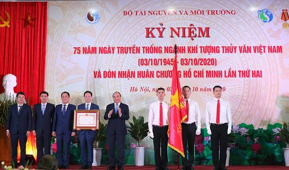 Thủ tướng dự lễ kỷ niệm 75 năm ngày truyền thống ngành Khí tượng Thuỷ văn Việt Nam