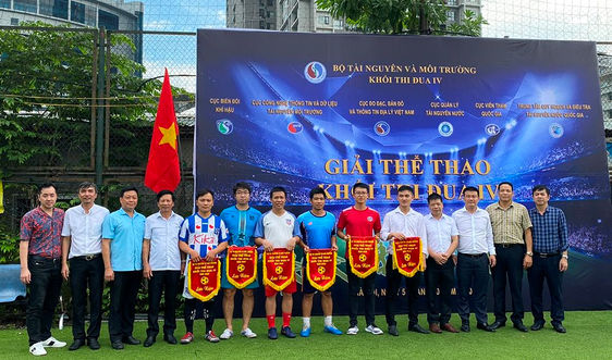 Khai mạc Giải thể thao Khối thi đua IV - Bộ Tài nguyên và Môi trường