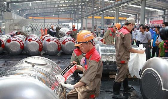 Giảm phát thải khí nhà kính nhờ tiết kiệm điện ở Công ty Cổ phần quốc tế Sơn Hà