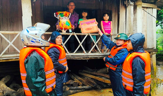 Nỗ lực khắc phục hậu quả mưa lũ ở huyện miền núi A Lưới