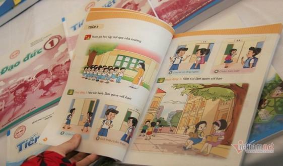 Bộ GDĐT đề nghị rà soát, báo cáo các phản ánh về sách giáo khoa lớp 1