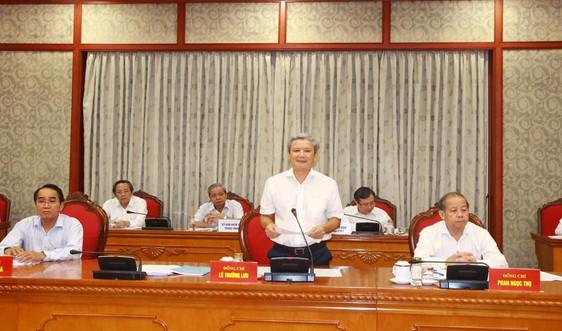 Thừa Thiên Huế tổ chức Đại hội Đảng bộ tỉnh lần thứ XVI, nhiệm kỳ 2020 - 2025 từ 21- 23/10