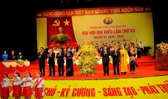Thái Nguyên: Khai mạc Đại hội Đảng bộ tỉnh lần thứ XX, nhiệm kỳ 2020-2025