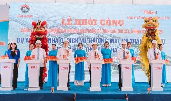 Tập đoàn TNG Holdings Vietnam, khởi công một số công trình trọng điểm tại Hà Tĩnh