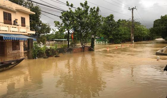 Vẫn còn hàng ngàn ngôi nhà ở Đà Nẵng bị ngập