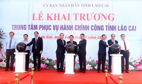 Lào Cai: Khánh thành Trung tâm Phục vụ hành chính công chào mừng Đại hội Đảng bộ lần thứ XVI