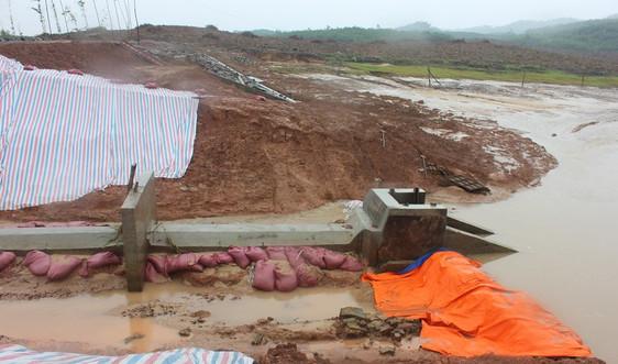 Quảng Nam: Người dân lo ngại chất lượng công trình đập Hóc Bầu