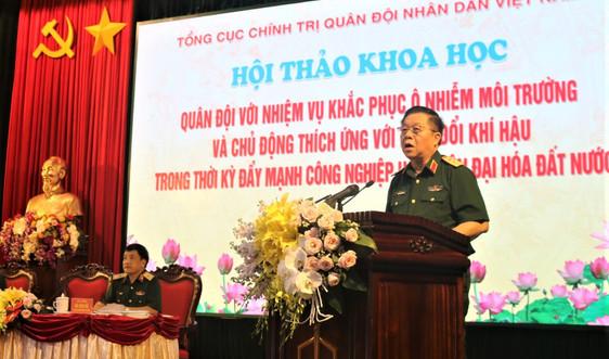 Phát huy vai trò của quân đội trong khắc phục sự cố ô nhiễm môi trường