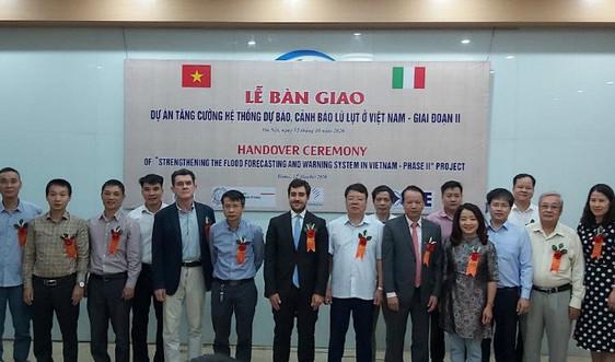 Tăng cường hệ thống dự báo, cảnh báo lũ lụt ở Việt Nam