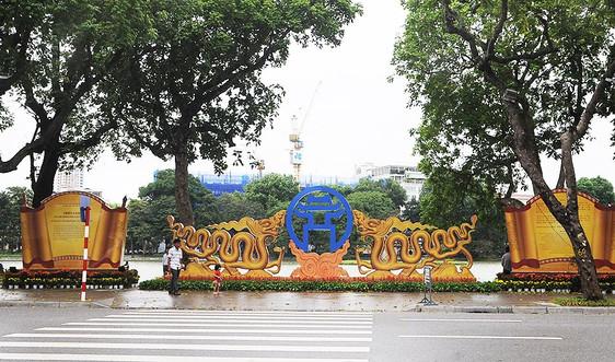 Hà Nội trang hoàng kỷ niệm 1010 năm Thăng Long, chào mừng thành công Đại hội Đảng bộ Thành phố
