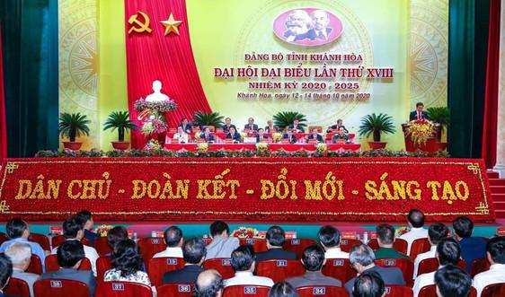 Đại hội Đảng bộ tỉnh Khánh Hòa thành công tốt đẹp