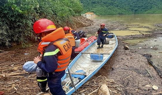 Dốc toàn lực ứng cứu các nạn nhân trong vụ sạt lở thủy điện Rào Trăng 3