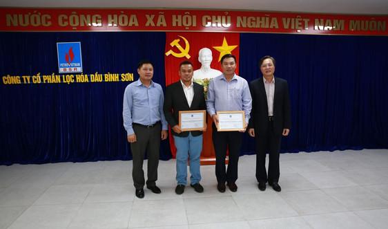 Khen thưởng các nhà thầu nước ngoài tham gia bảo dưỡng lần 4 Nhà máy lọc dầu Dung Quất