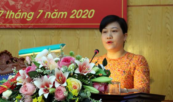 Bà Đỗ Thị Minh Hoa được giao quyền Chủ tịch tỉnh Bắc Kạn