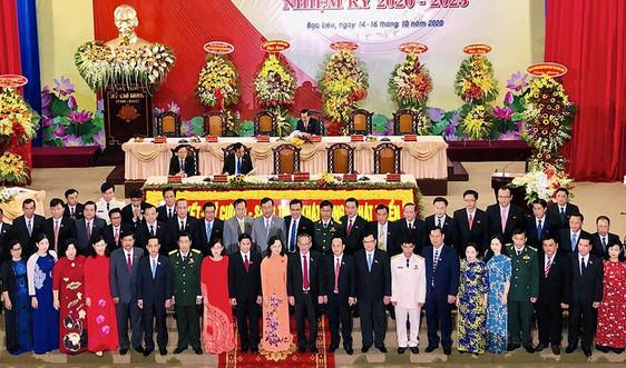 Đại hội Đại biểu Đảng bộ tỉnh Bạc Liêu nhiệm kỳ 2020-2025 biểu thị thống nhất ý chí, quyết tâm cao