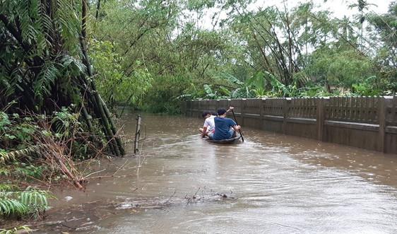 Thừa Thiên Huế cho học sinh nghỉ học để ứng phó mưa, bão