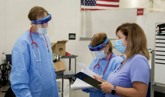 Số ca nhiễm COVID-19 ở Mỹ tăng cao ở các bang Trung Tây