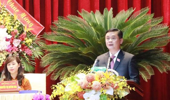 Nghệ An: Đồng chí Thái Thanh Quý tái đắc cử Bí thư Tỉnh ủy