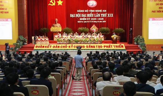 Nghệ An: Bế mạc Đại hội đại biểu Đảng bộ tỉnh lần thứ XIX