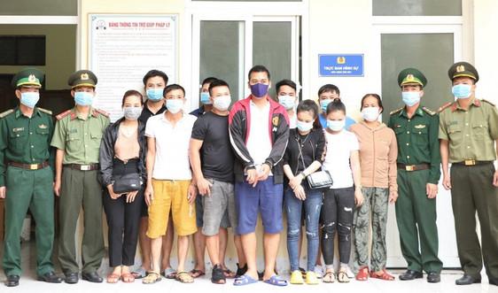 Hà Tĩnh: Phá thành công Chuyên án đưa người vượt biên trái phép