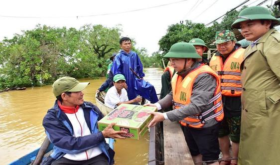 Thừa Thiên Huế: Tập trung khắc phục thiệt hại do mưa lũ, kịp thời cứu trợ cho dân