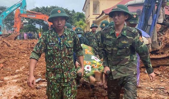 Quảng Trị: Toàn cảnh 40 giờ nỗ lực tìm kiếm 22 chiến sĩ bị vùi lấp do sạt lở đất