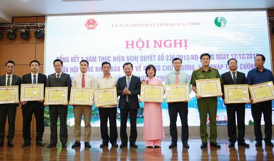 Quảng Ninh: Tổng kết 5 năm thực hiện Nghị quyết 236 về công tác bảo vệ môi trường.