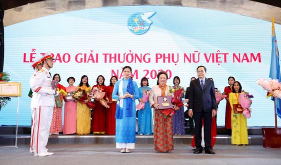 Chủ tịch Tập đoàn BRG xuất sắc đạt giải thưởng Phụ nữ Việt Nam 2020