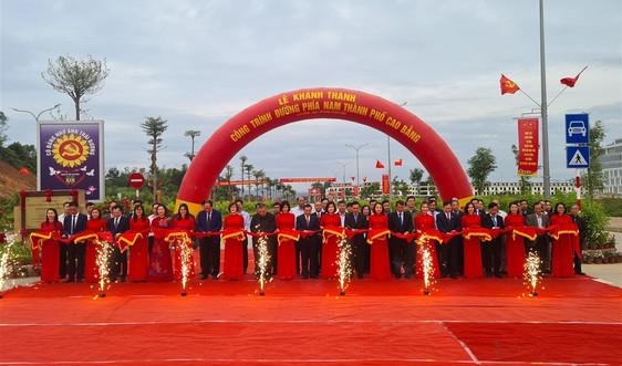 Khánh thành các công trình trọng điểm chào mừng Đại hội Đảng bộ tỉnh Cao Bằng