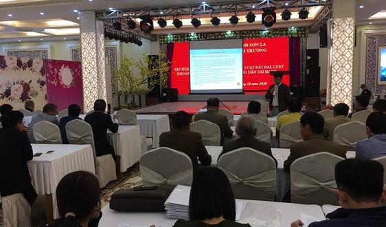 Sơn La: Triển khai tập huấn Luật Bảo vệ môi trường, Đất đai, Khoáng sản