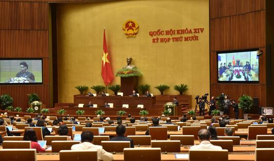 Khai mạc Kỳ họp thứ 10, Quốc hội khoá XIV